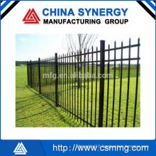 Ourdoor garden aluminum fence with different shape