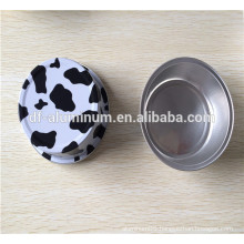 Colored Round Aluminium Foil Container for Cake baking