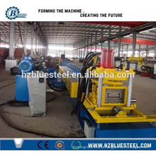 Metal Steel C / Z Purlin Roll Forming Machine, C & Z Shape Purlin Forming Line
