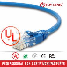 Cable estupendo de la cuerda del remiendo del gato 6 del cable UTP