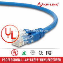 Super Quality CU Cable 0.5M/1M/3M/5M 26AWG UTP BC Cat 6 Patch Cord Cable