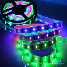 DC5V 16.4feet 150 LEDs RGB Led Strip Light WS2812 Flexible Chasing IP67 Waterproof for Advertisement Home Indoor decoration