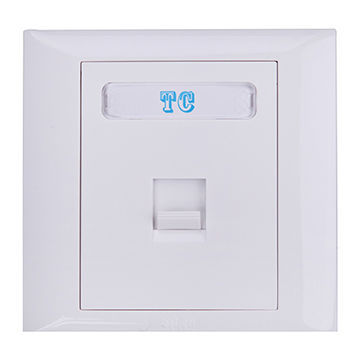 High Quality Classic 1-Digit Flat Face Plate