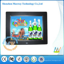 slim 8 inch lcd digital picture frame with video