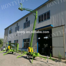 16m CE approved low price swing lift truck,ladder lift truck,cherry picker for sale  cherry picker introduction  cherry picker : Structure  cherry picker : working range  cherry picker paremeters:  cherry picker'sadvantages: