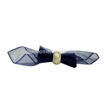 Anel de guardanapo de shell de luxo