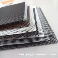 Diamond wire mesh window/stainless steel diamond mesh