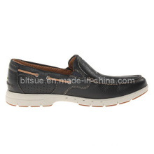 Factory Hot Selling Leather Boat Shoes for Men