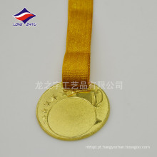 Medalhas comemorativas de medalhas em branco com estilo novo personalizado