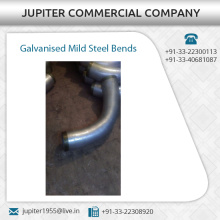 Corrosion Resistance Galvanised Mild Steel Bends
