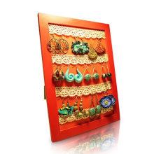 Ornament Cardboard Display with Hooks, Peg Cardboard Display Rack
