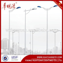 galvanized steel lamp post light pole prices