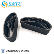 Flexible Abrasive Silicon Carbide Sanding Belt for Stone