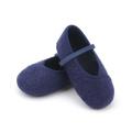 Cómoda tela de algodón zapatos niña vestido de los niños