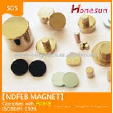 super strong N35 Ni coating ndfeb magnet disc shape