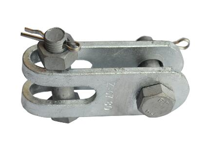 Overhead Power Line Galvanized Steel Z Type Clevis