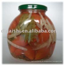 Tomate cereja doce em conserva