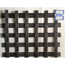 Intensitas Tinggi Warp Knitting Polyester Pet Geogrid