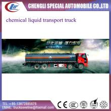 Caminhão de tanque líquido químico personalizado