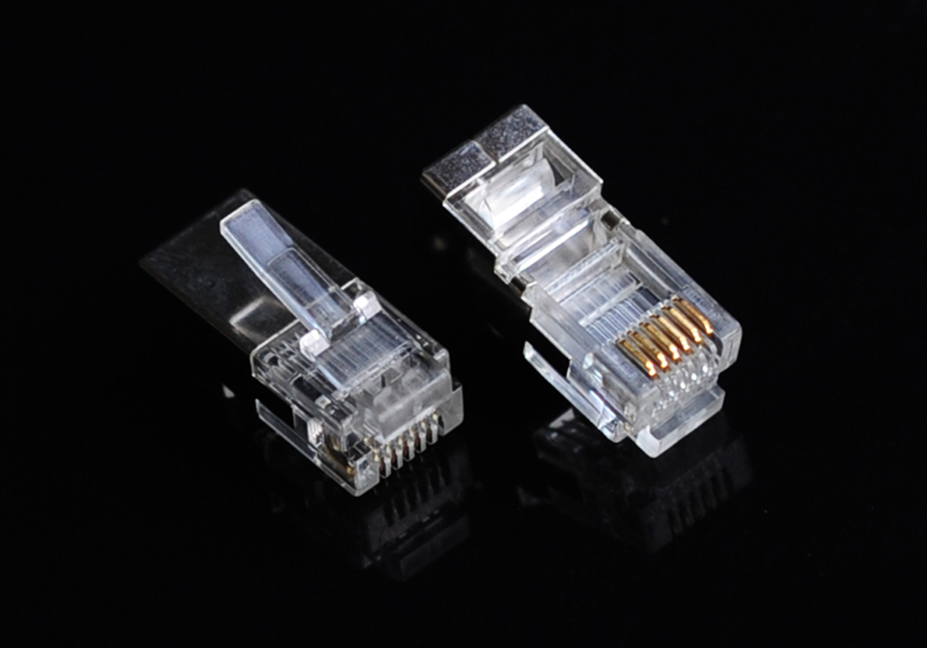 RJ12 Shielded Plug 6P6C
