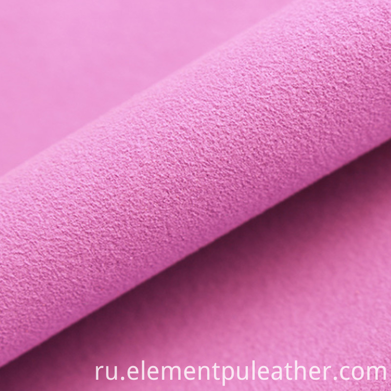 Microfiber Suede PU Leather