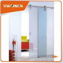 Long lifetime steel security sliding solid barn door hardware