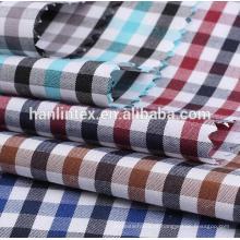 100% fio de algodão tingido tecido para china fornecedor da camisa