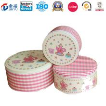 Round Tin Coin Bank Set Cake Tin Set