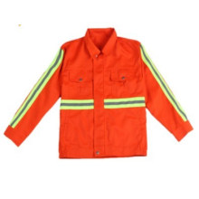 Safety Jackets with High Luster Reflective Tape