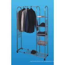 Venta metal Mostrar ropa/ropa/ropas pantalla rejilla (SLL07-002)