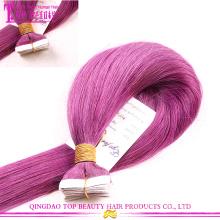 Fita de extensão 100% atacado alta qualidade remy cabelo russo preço barato cabelo
