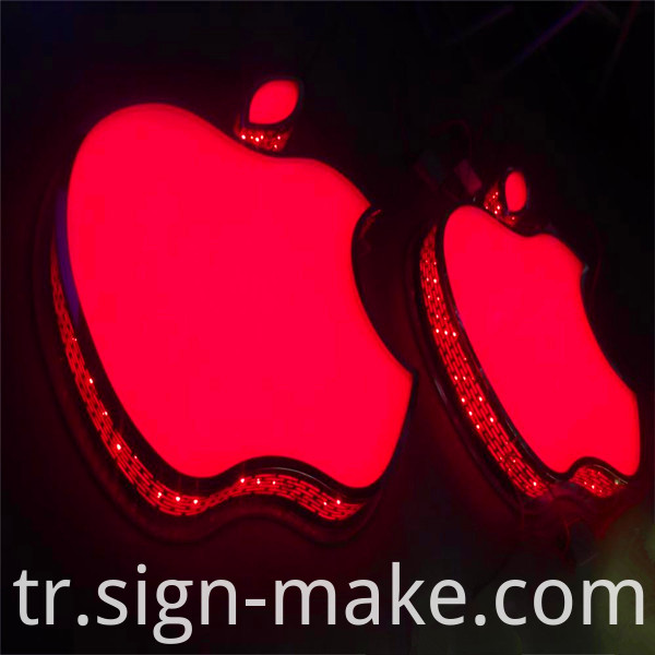 RGB Front Lit and Side Lit Letter Sign