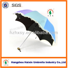 OEM and Wholesale New Beautiful Fashion Rainbow Folding Umbrella