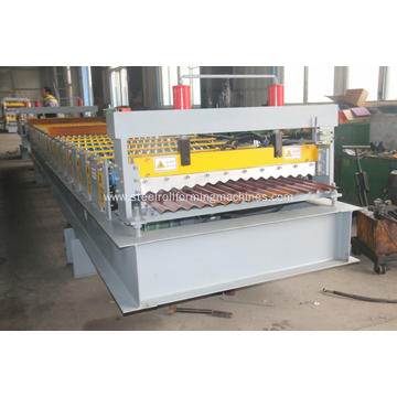 corrugated tile steel wall panels making machine