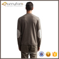 High quality knitted 100% cashmere mens v neck sweaters for autumn