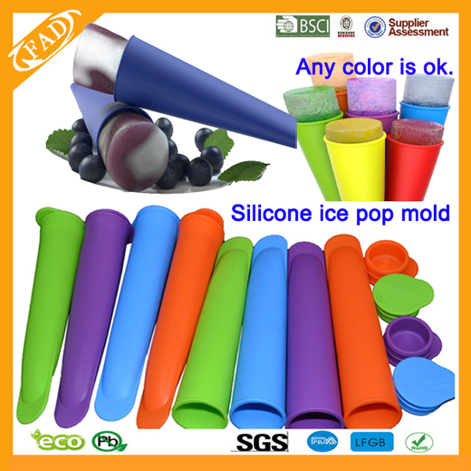 silicone ice popsicle mold