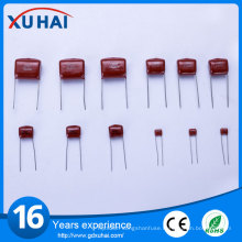 Guaranteed Quality 125j 400V Metallized Polypropylene Film Capacitor