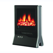 small portable electric fireplace