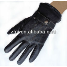 2013 newly a grade fancy leather gloves custom design