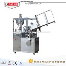Machine de remplissage et de cachetage chimique semi-automatique de Staionary de tube en aluminium
