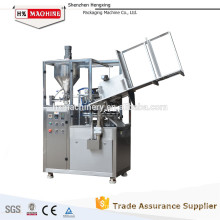 Competitive price semi automatic aluminum tube filling sealing machine for ointment toothpaste shoe polish etc