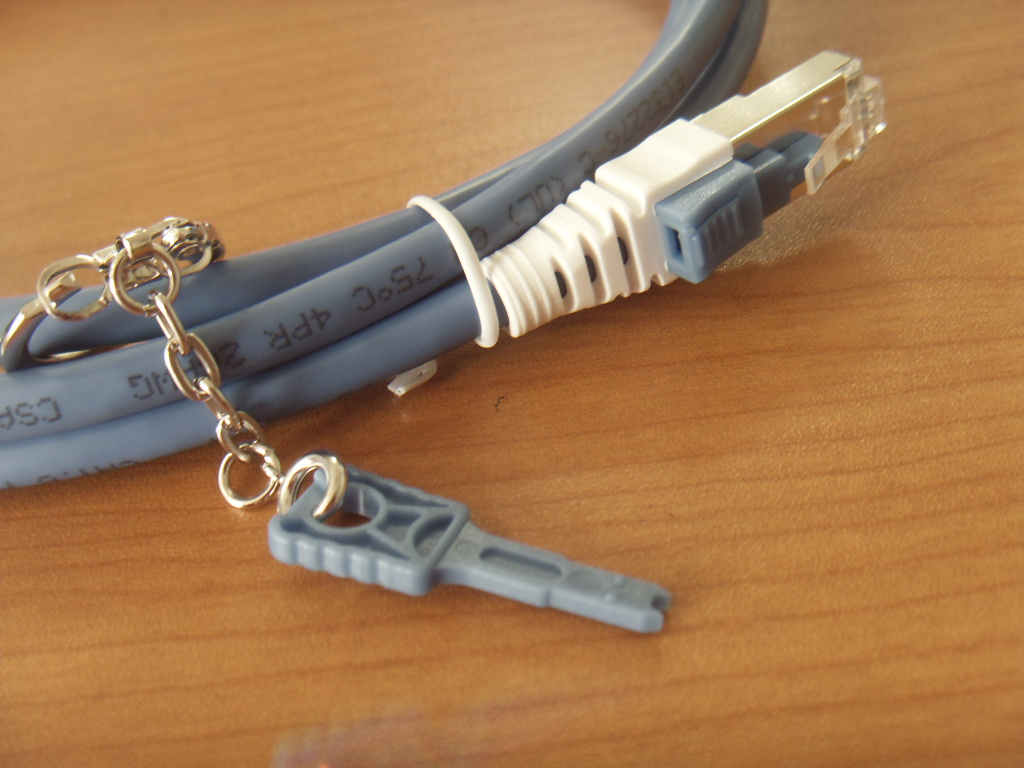 Security Locking Patch Cord Cat 6
