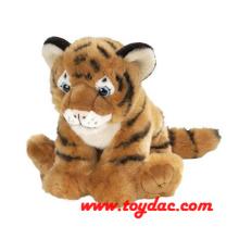 Gefüllte Wildtier Kleine Tiger Toy