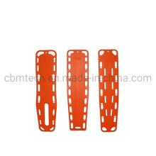 Emergency Plastic Medical Stretcher Carbon Spine Board