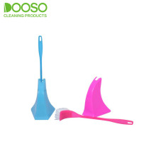 Special Design Reach Corner Toilet Bowl Brush Set