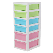 Plastic 6 Layer Multi-Function Drawer Cabinet