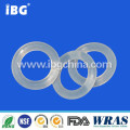 VMQ SIL Rubber silicon o-rings with oval profile