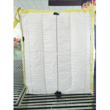 100% polypropylène conducteur pp grand sac tissé, FIBC, sac jumbo de tonne de sac pour la poudre de talc bas prix par manufactuer dans Hebei