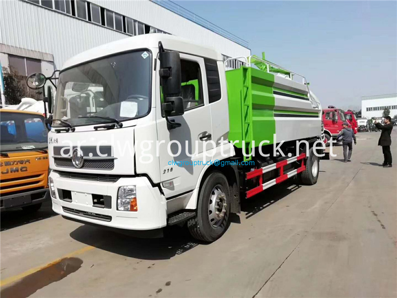 High Pressure Cleaning Suction Truck 1