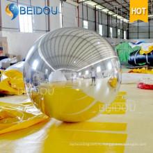 Фабрика оптового декоративного зеркала воздушный шар Disco раздувной шар зеркала
